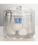 Acrylic Cotton Swab and Ball Holder