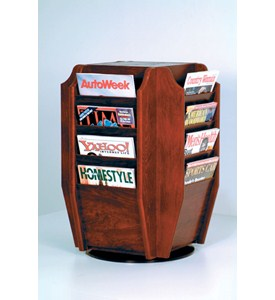 Magazine Rack - Rotating Image