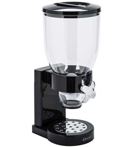 Countertop Food Dispenser - Black Image