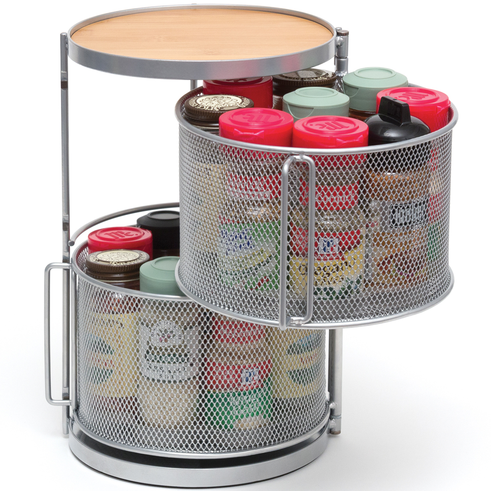 Small Countertop Spice Rack : Countertop Spice Organizer in Spice Racks