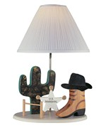 Cowboy Kids Table Lamp by Lite Source