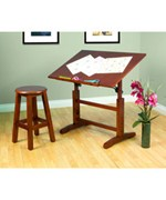 Creative Drawing Table and Stool Set by Studio Designs