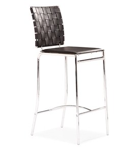Criss Cross Barstool - Set of 2 by Zuo Modern Image