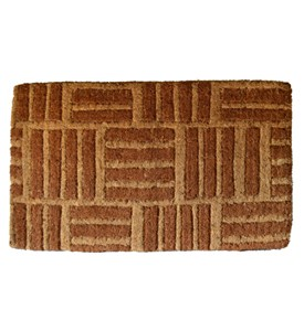 Criss Cross Coir Doormat by Imports Decor Image