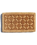 Cross Board Entrance Mat by Imports Decor
