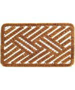 Cross Hatch Coir Doormat by Imports Decor