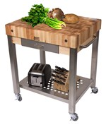 Cucina Technica Kitchen Cart by John Boos - CUCT24