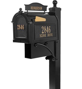 Curbside Ultimate Mailbox - Black Image