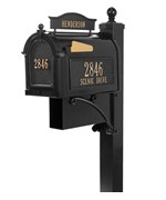 Curbside Ultimate Mailbox - Black