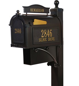 Curbside Ultimate Mailbox - French Bronze Image