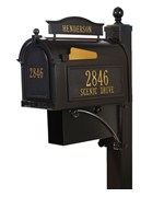 Curbside Ultimate Mailbox - French Bronze