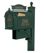 Curbside Ultimate Mailbox - Green