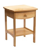 Curved Night Stand - Natural