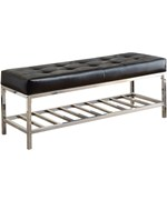 Cushioned Storage Bench