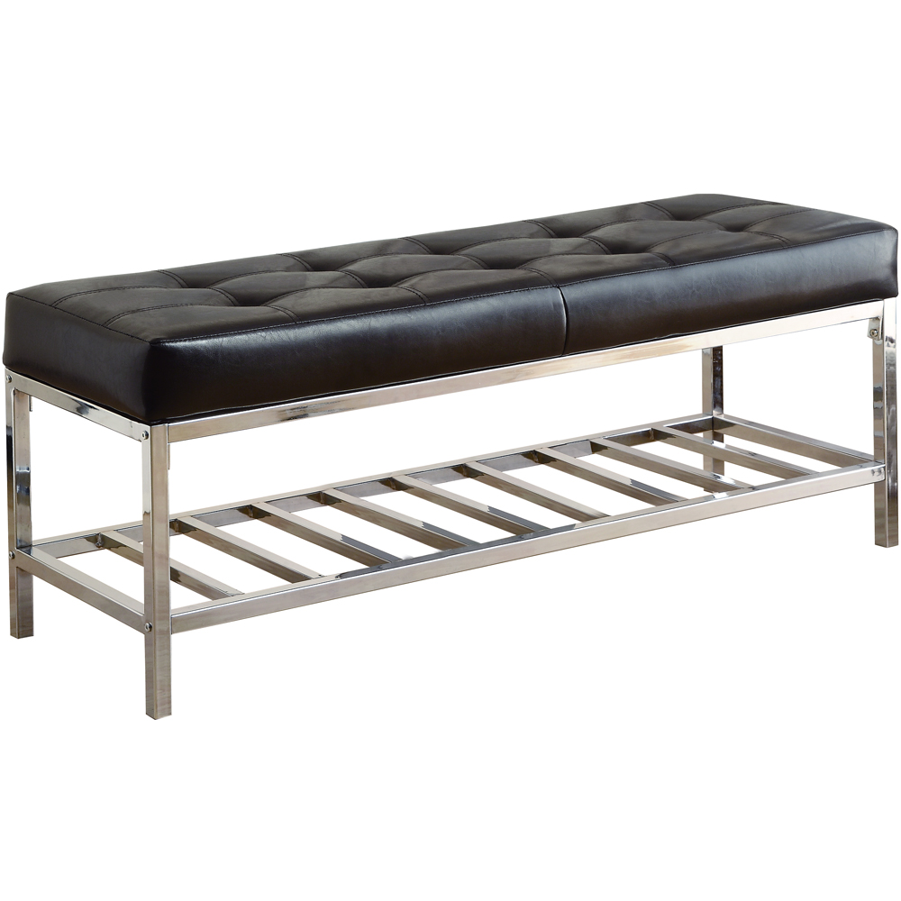 cushioned storage bench price