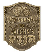 Custom Welcome Bar Sign