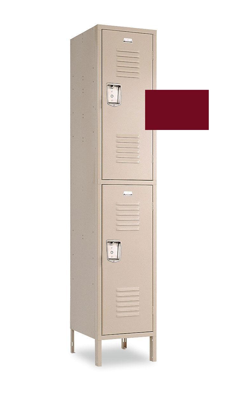 12x12x66 Custom Double Tier Locker In Lockers