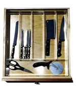 Acrylic Cutlery Drawer Insert
