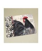 Cutting Board - Glass Rooster