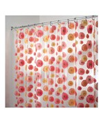 Gerber Daisy Vinyl Shower Curtain