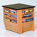 End Table - Magazine Rack