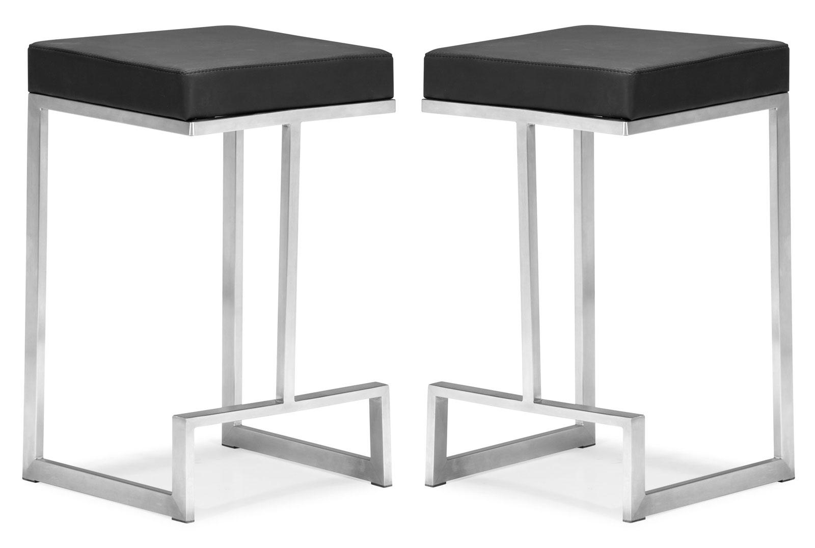 Darwen Counter Chair Set Of 2 By Zuo Modern In Modern