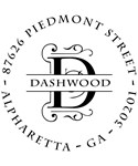 Dashwood Personalized Address Stamp
