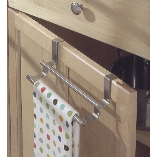 ... Double Over Cabinet Door Kitchen Towel Bar