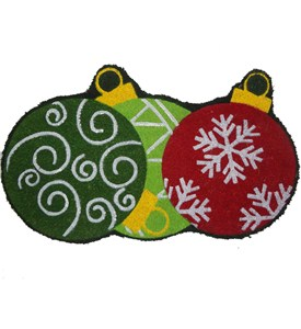 Decorative Coir Doormat - Ornaments Image