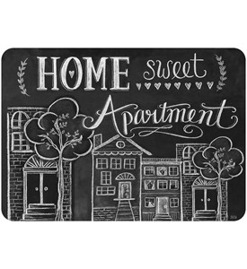 Decorative Floor Mat - Home Sweet Apartment Image