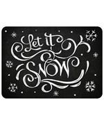 Decorative Floor Mat - Let It Snow