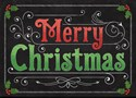 Decorative Floor Mat - Merry Christmas