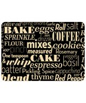Decorative Kitchen Mat - Kitchen Words