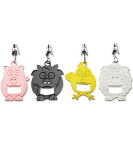 Decorative Tablecloth Weights - Animals (Set of 4) Image