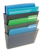 Deflecto Stackable Wall File Pockets