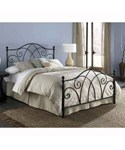 Deland Brown Sparkle Bed by Fashion Bed Group