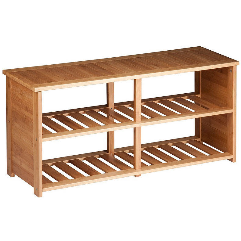 deluxe bamboo shoe rack bamboo shoe rack shoe rack with umbrella stand bench with shelves