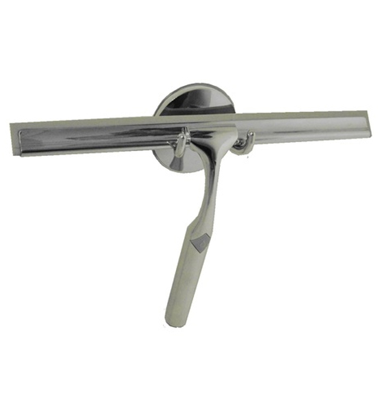 Deluxe Chrome Shower Squeegee Image