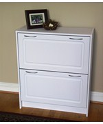2 Drawer Shoe Storage Cabinet
