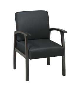 Deluxe Espresso Finish Guest Chair by Office Star Image