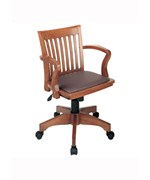 Deluxe Padded Bankers Chair by Office Star