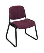 Deluxe Sled Base Chair by Office Star