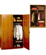 Deluxe Two Door Wardrobe