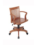 Deluxe Wood Bankers Chair by Office Star