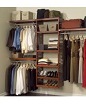 Deluxe Wood Closet System