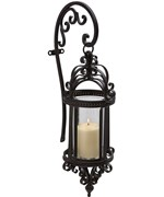 Dempsy Hanging Wall Lantern by Imax