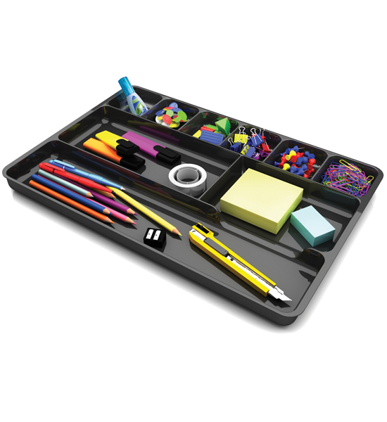 desk drawer organizer tray in desk drawer organizers