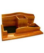 Wood Desktop Organizer