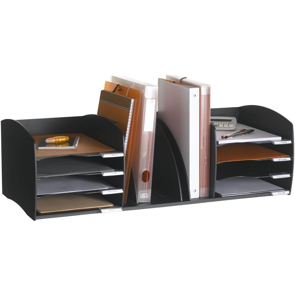 Desktop file sorter in file and mail organizers - Desk organizer sorter ...