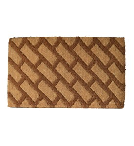 Diagonal Bricks Welcome Mat by Imports Decor Image